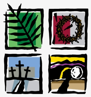 Free Holy Week Clip Art with No Background.