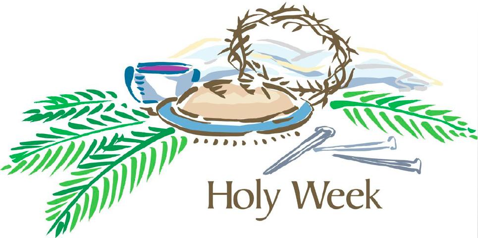 Holy Week 2019.