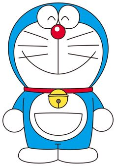 Doraemon Being Butterfly Coloring Pages.