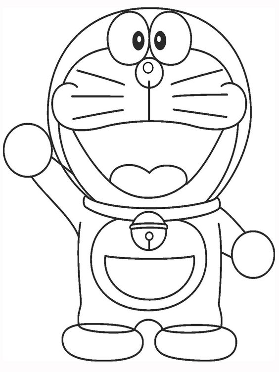 Doraemon Coloring Pages Printable Www..