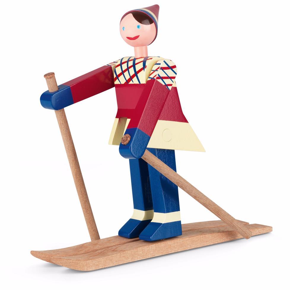 Datti the skier.
