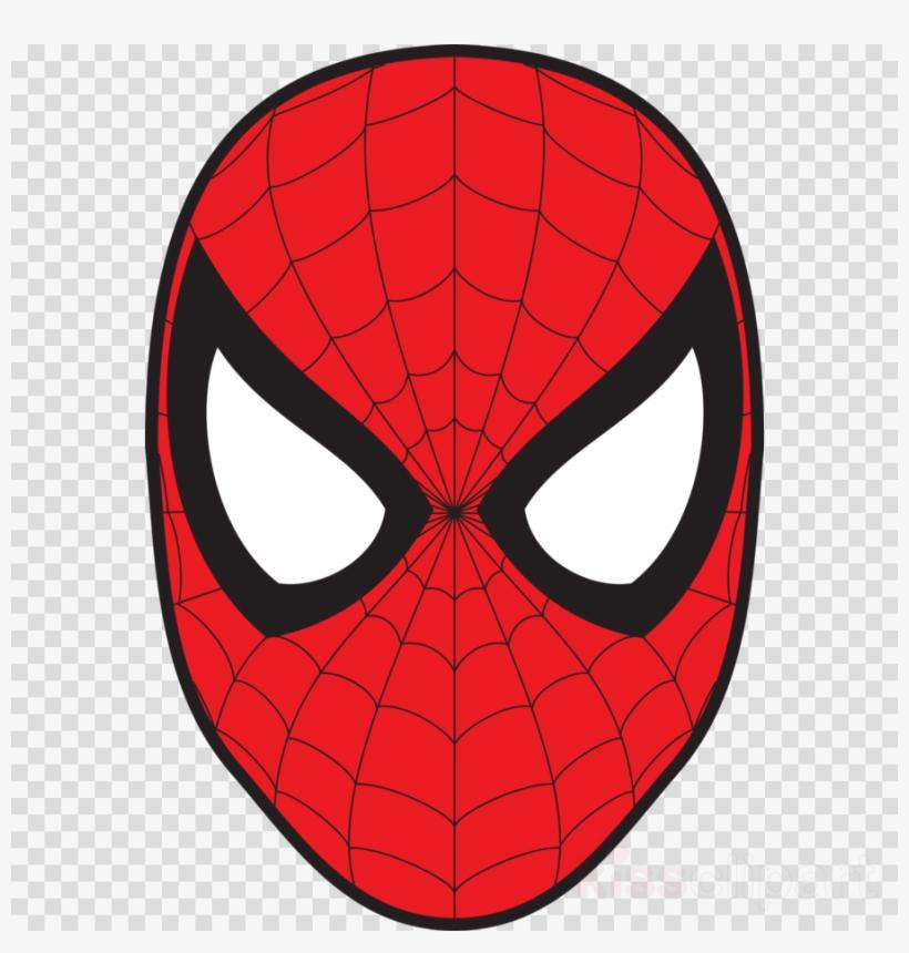 Spiderman Mask Vector Clipart Spider.