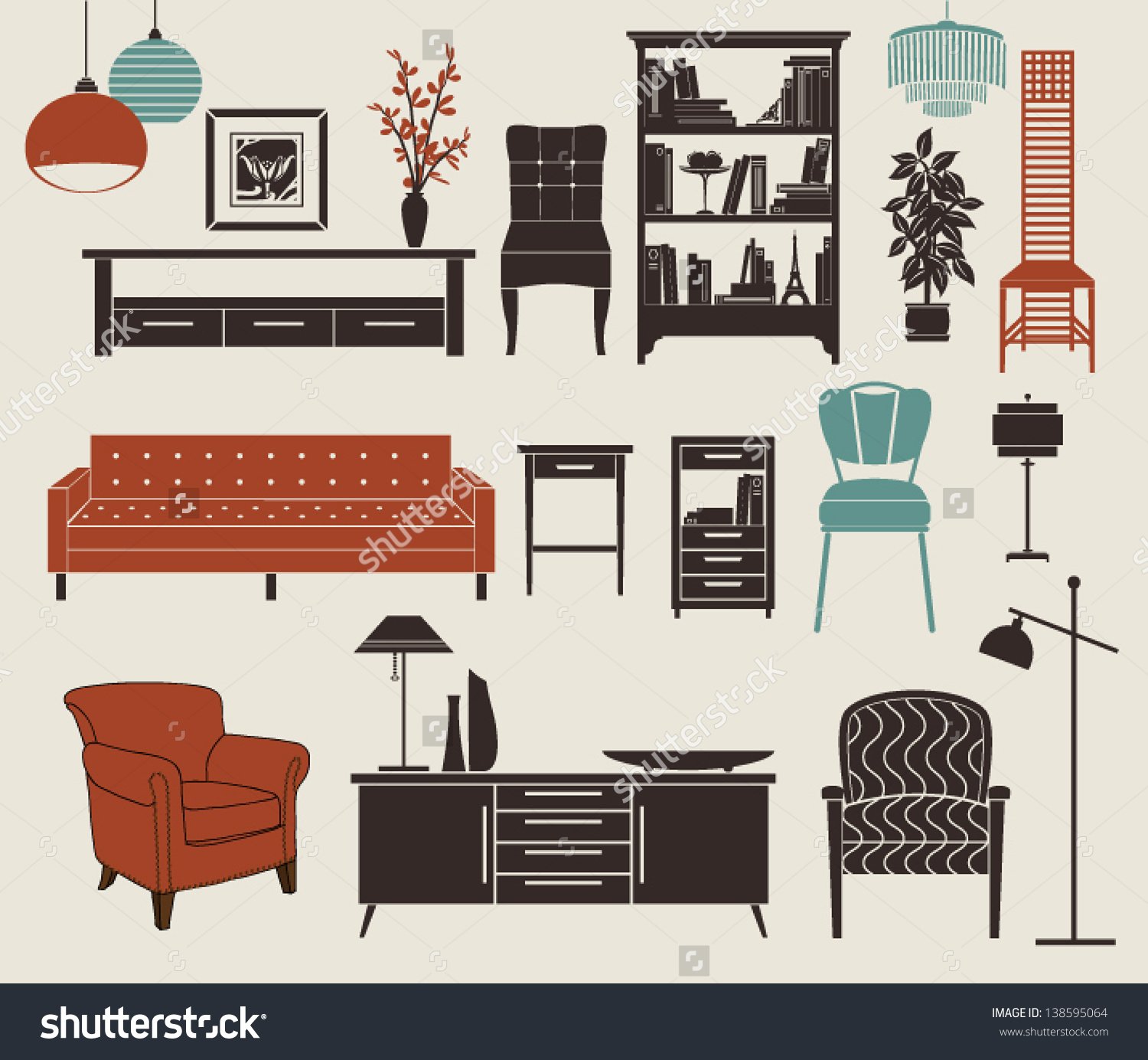 Home accessories clipart clipground for Home furniture accessories