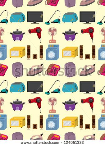 Electrical Appliance Cartoon Stock Vectors & Vector Clip Art.