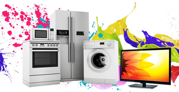 Home Appliances Transparent Background PNG.