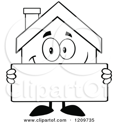 Home Construction Clipart Black And White.
