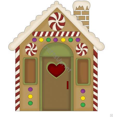 Christmas Home Clip Art.
