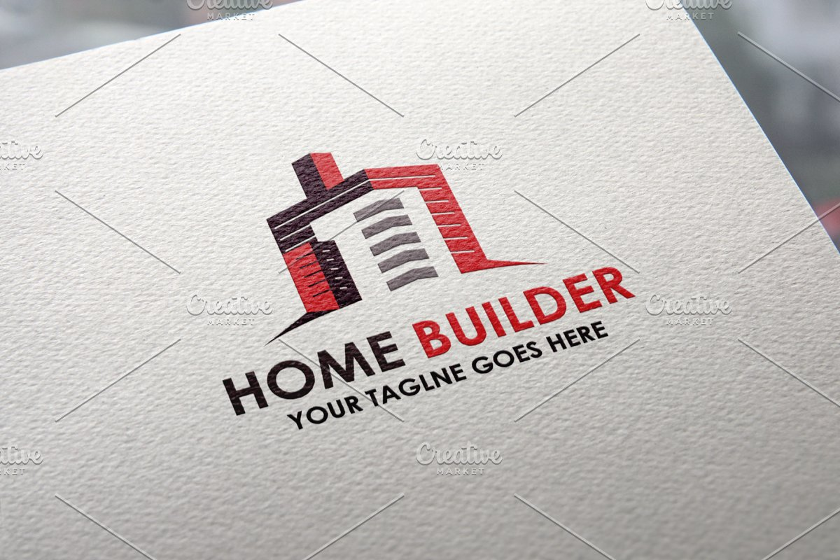 Home Builder Logo.