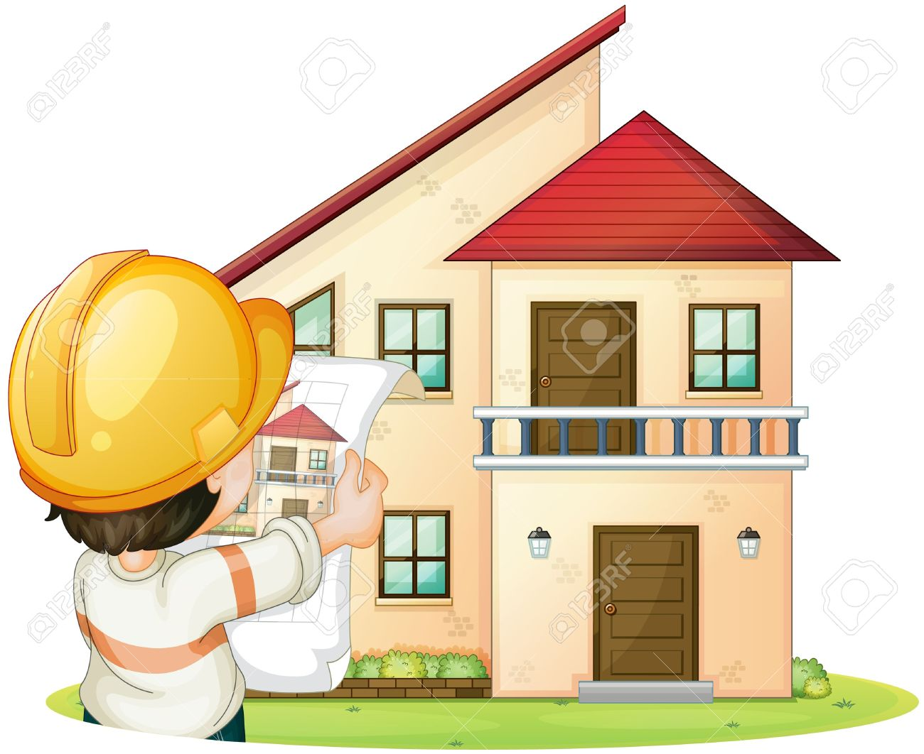 Home builder clipart.