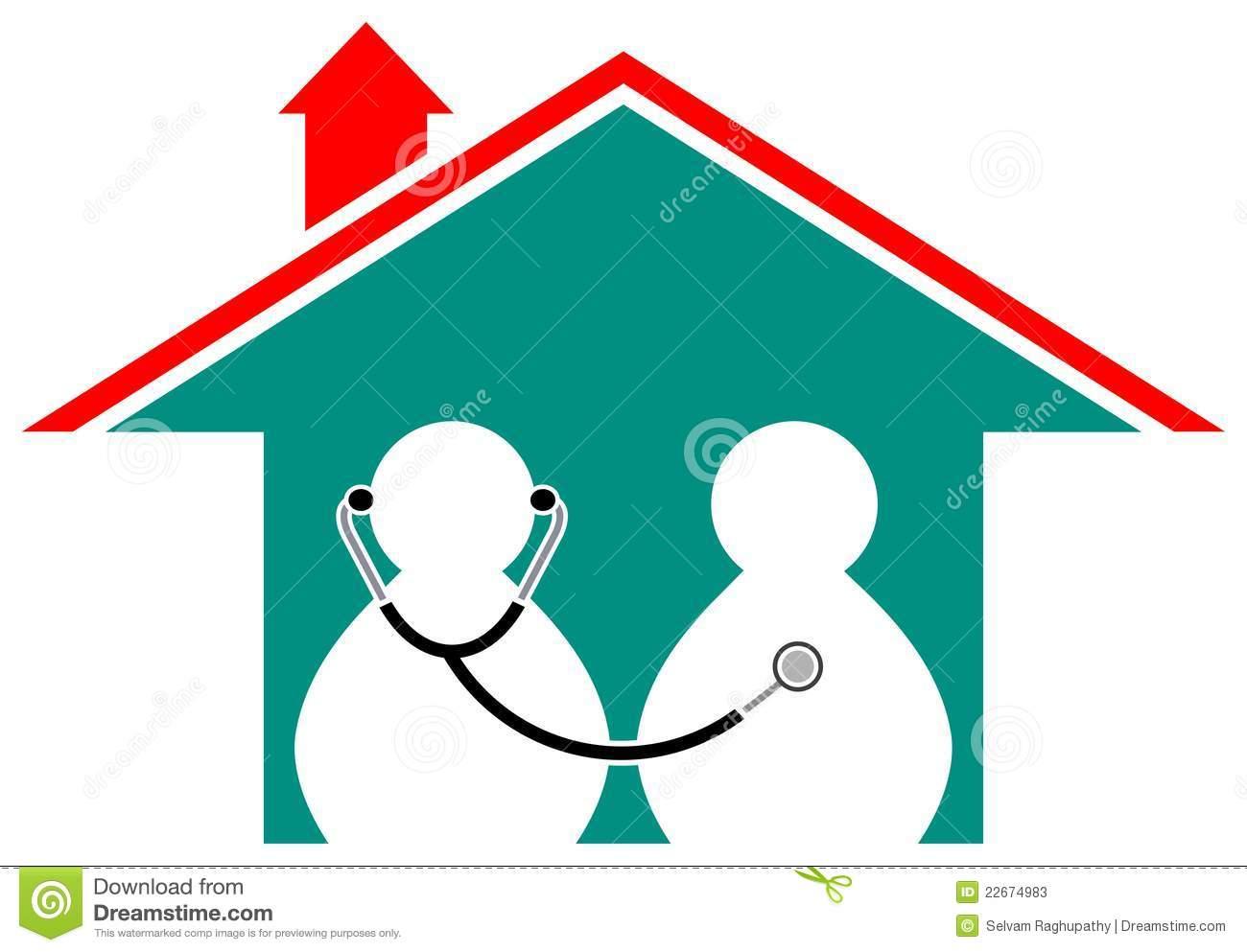 Home Health Aide Clipart.