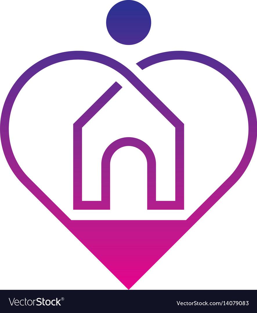 Home care logo design.