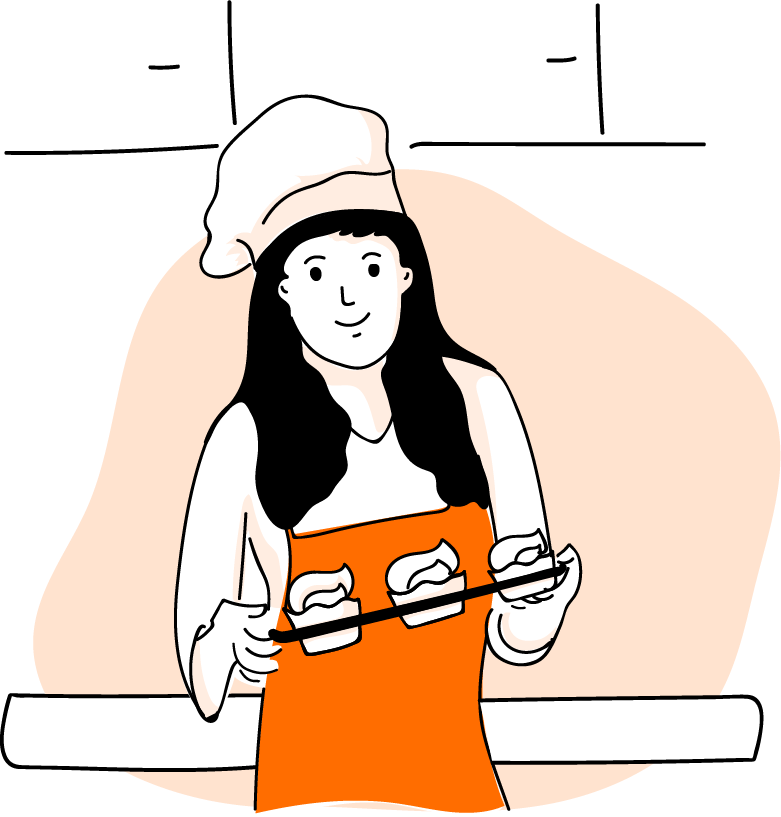 A New Type Of Restaurant Home Chefs Clipart.
