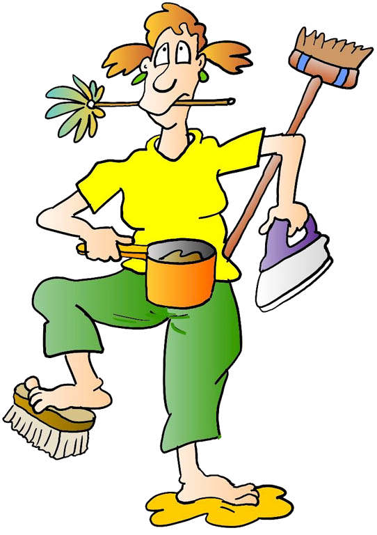 House Cleaning Clip Art N21 free image.