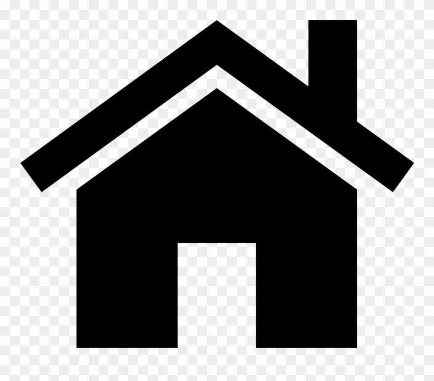 White Home 5 Icon.