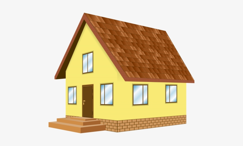 House Yellow Png Clip Art.