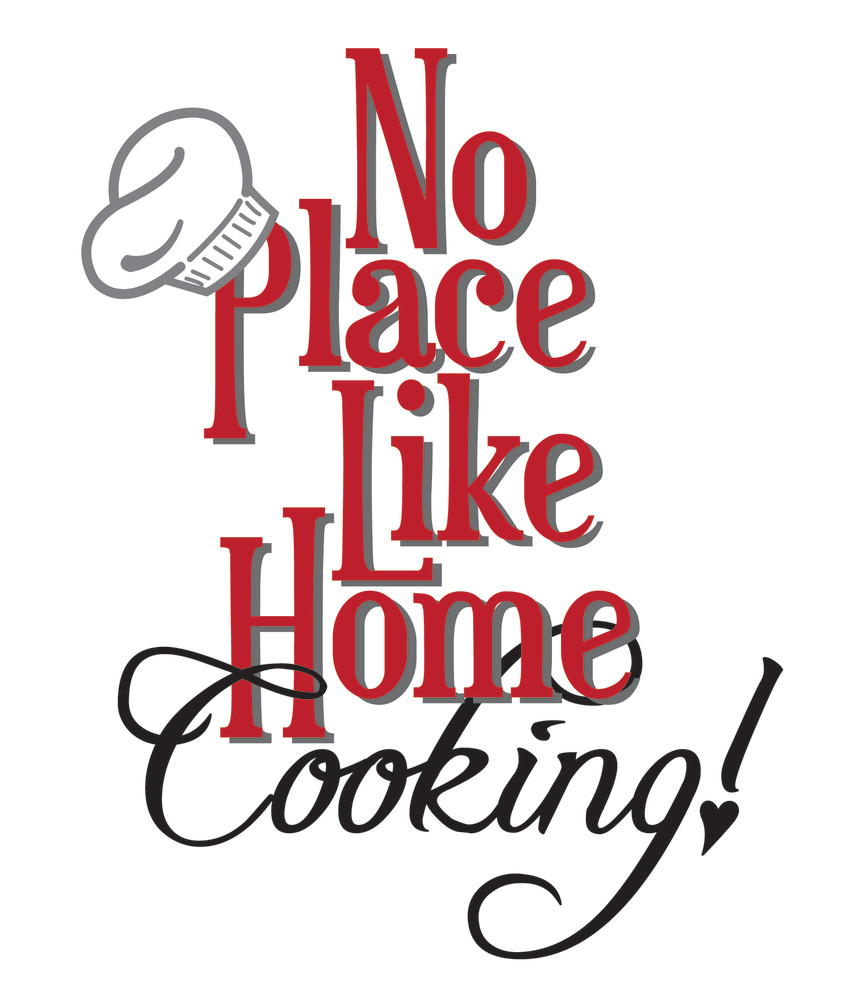 Home Cooking Clipart.