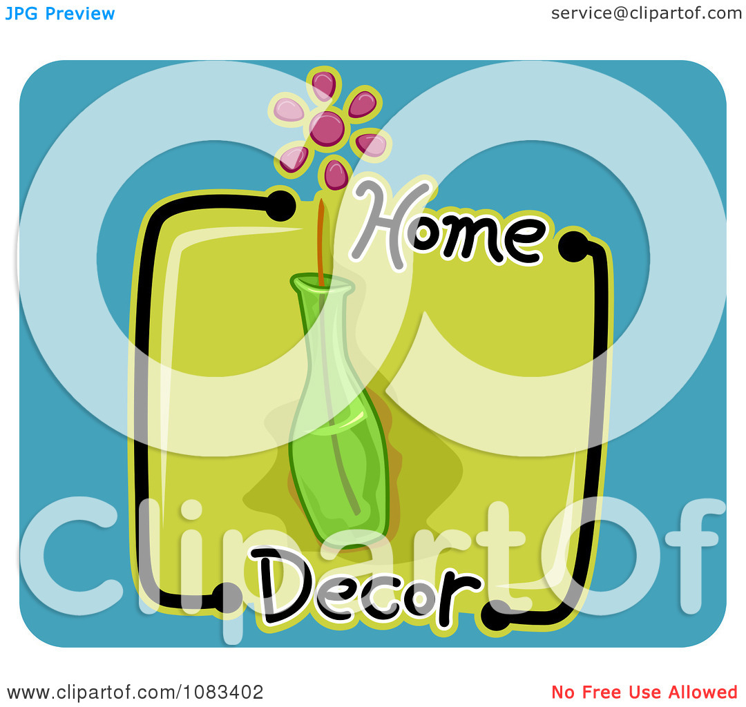 Home decor free clipart.