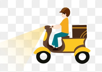 Home Delivery PNG Images.