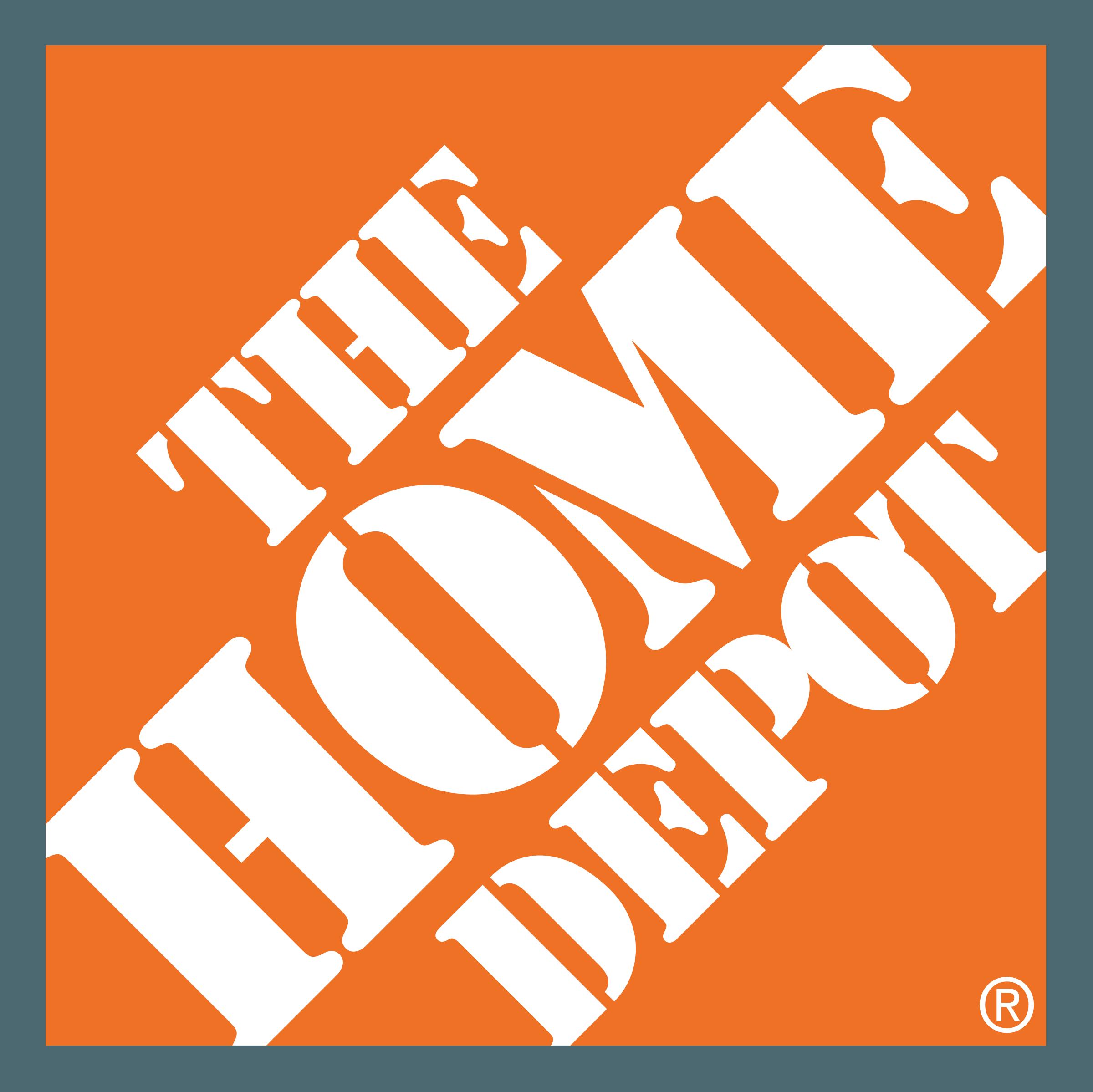 Home Depot Logo PNG Transparent & SVG Vector.