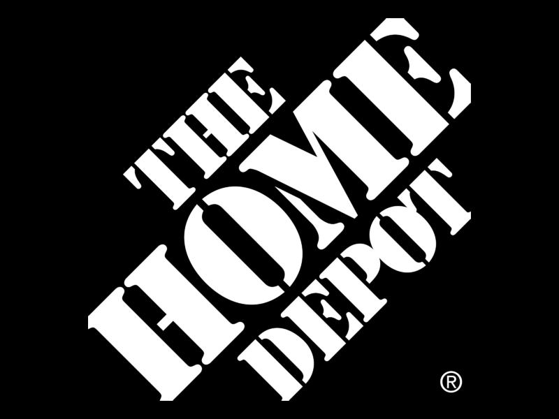 The Home Depot Logo PNG Transparent & SVG Vector.