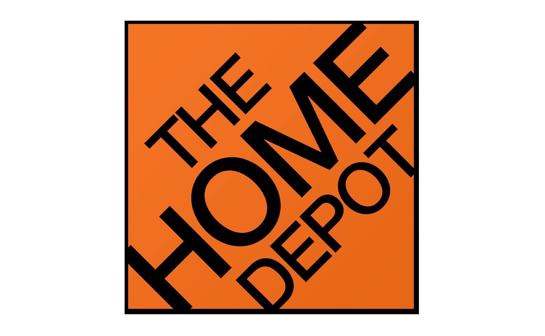 Home depot Logos.