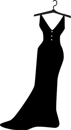 Details about DRESS silhouette Decal Removable WALL STICKER Home.