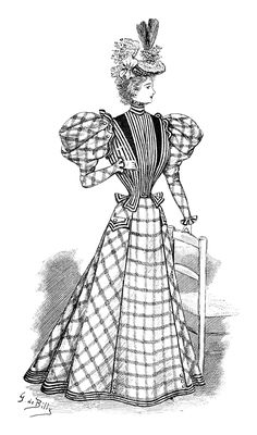 Edwardian dress, Ladies' home journal and The lady on Pinterest.
