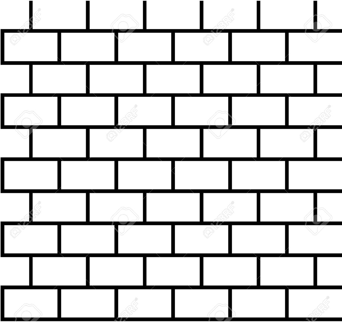 Home Design : Brick Wall Black And White Clipart Bar Garage brick.
