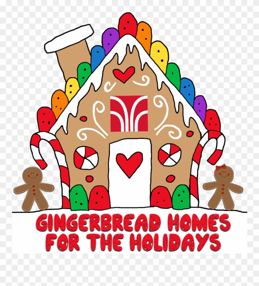Gingerbread Homes For The Holidays Clip Free Library.