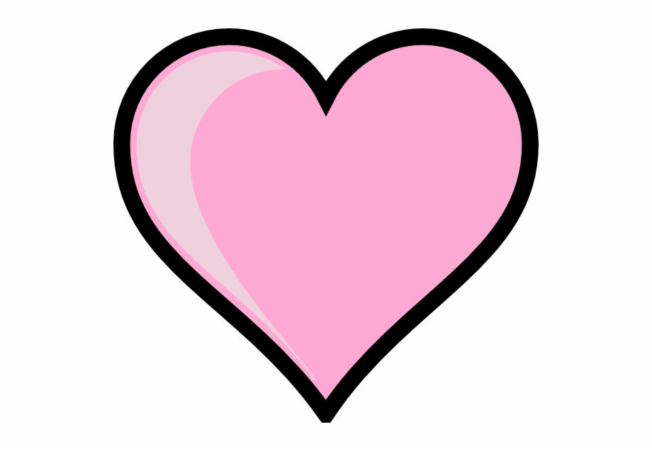 Home North Elementary Heart Clipart Png Pink.