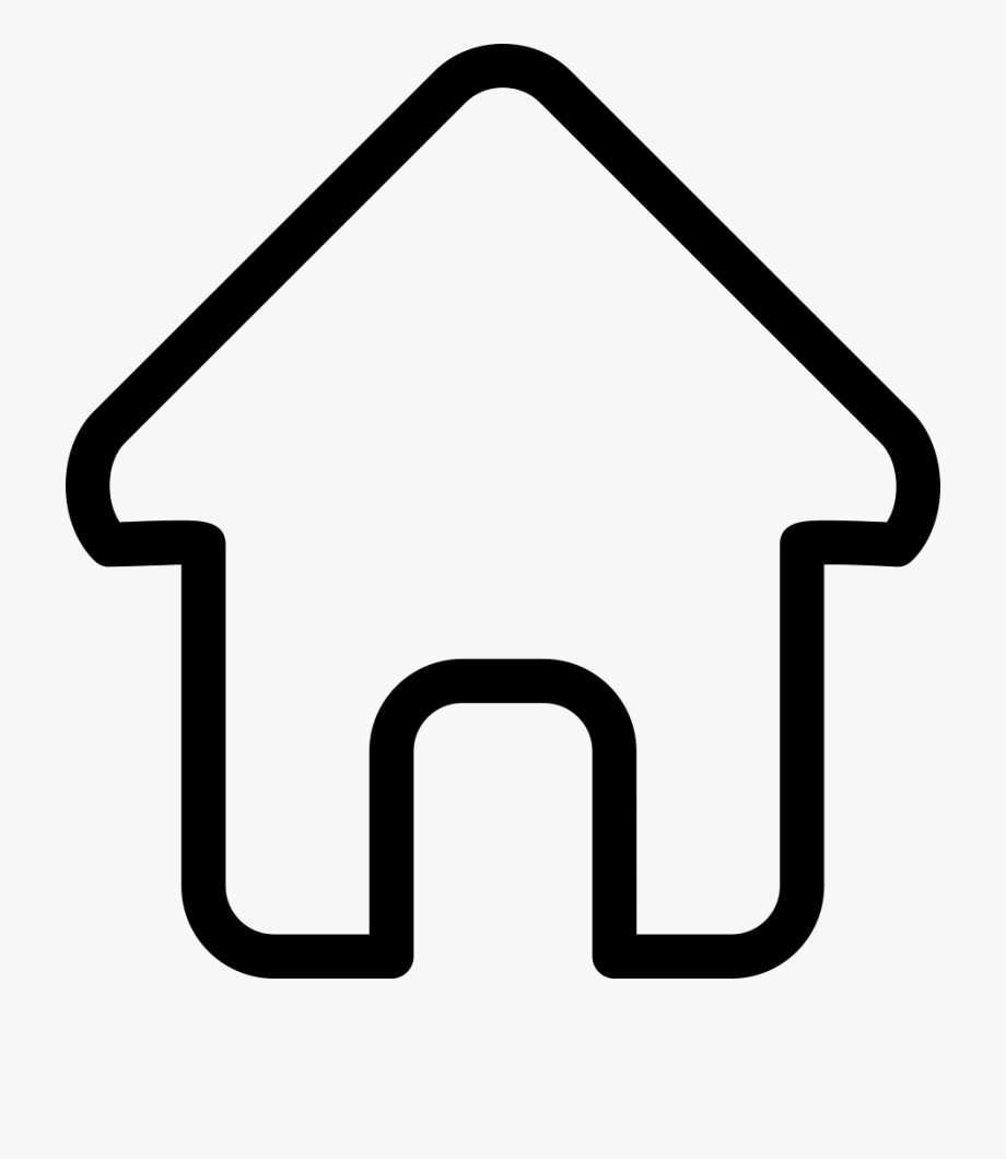 House Outline Svg Icon Free Download 3 Cliparts.