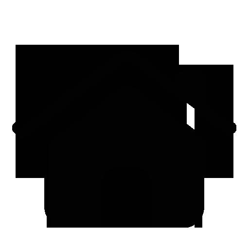 Black home Icon #11197.