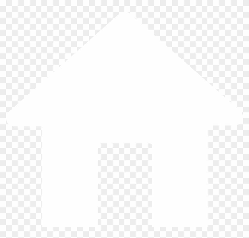 Icon, White, House.