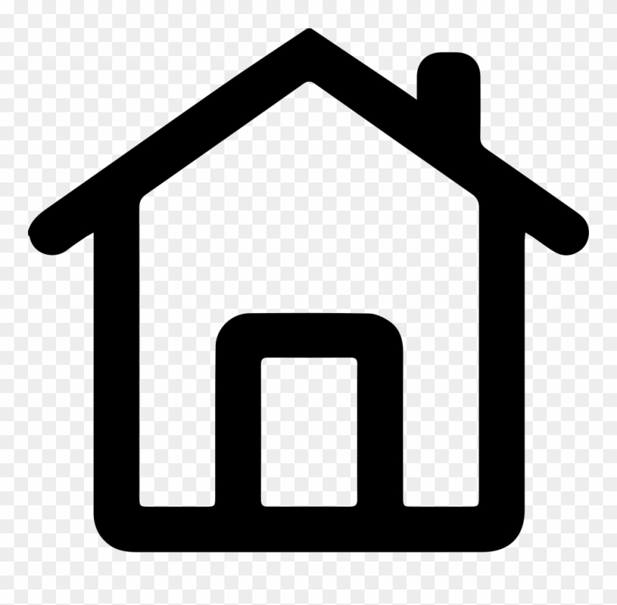 White Home Icon Png.