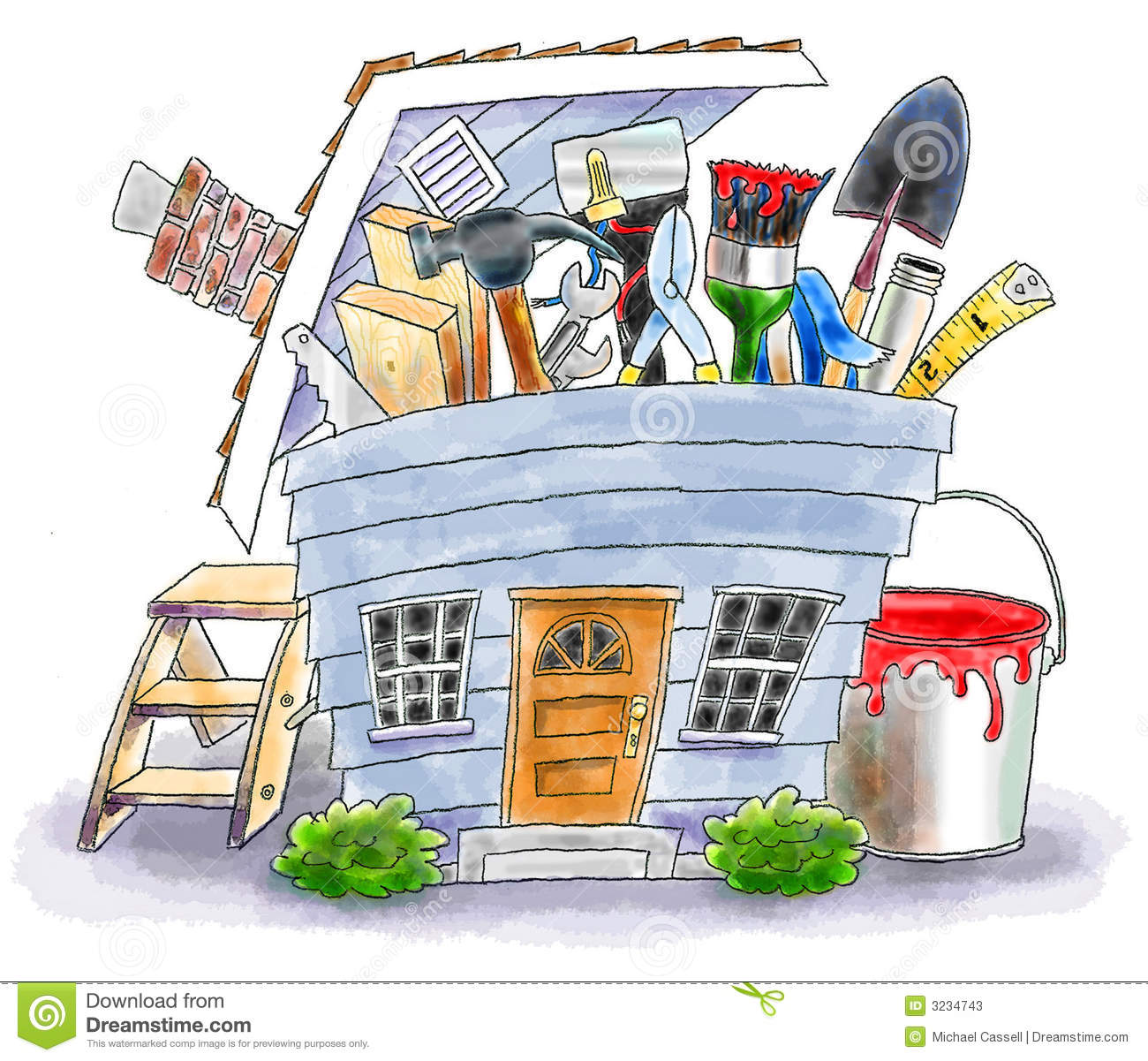 104+ Home Improvement Clipart.