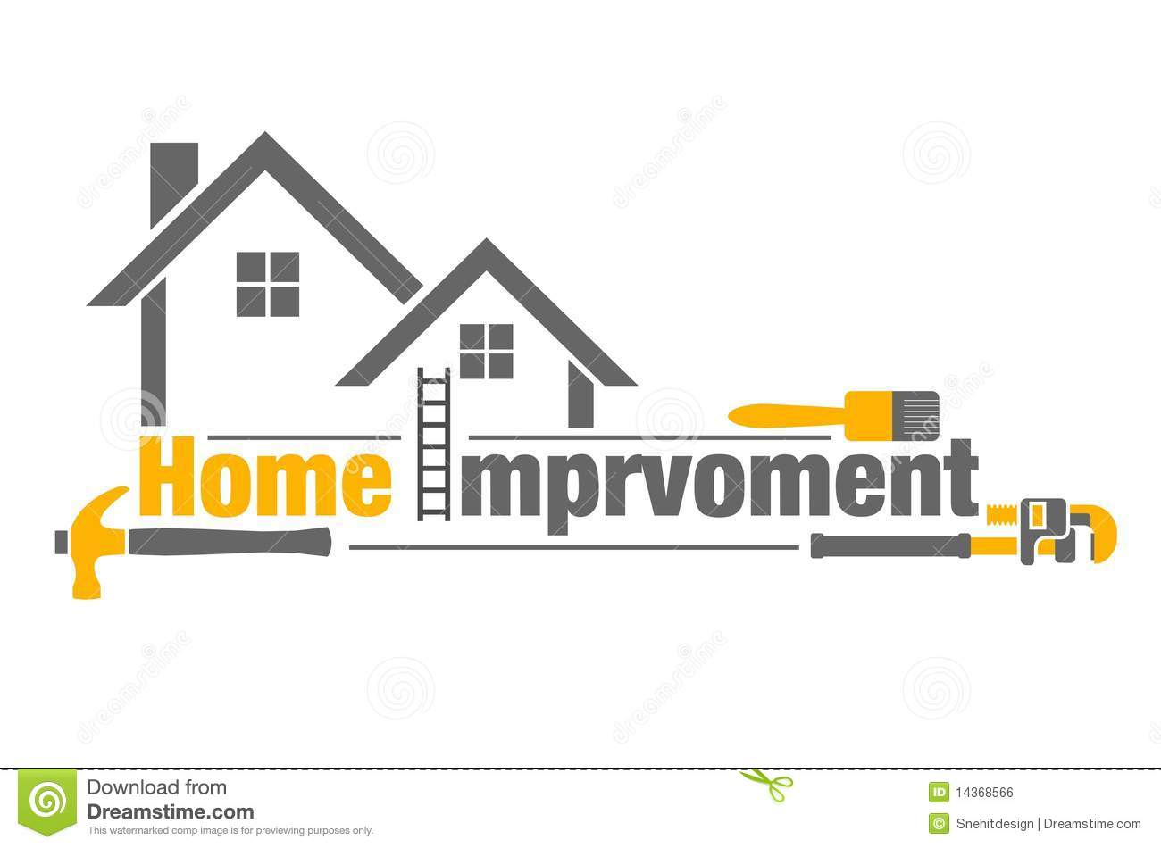 Home Improvement Icon Royalty Free Stock Image.