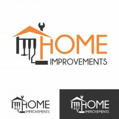 Tough and modern logo for a new home improvement company.