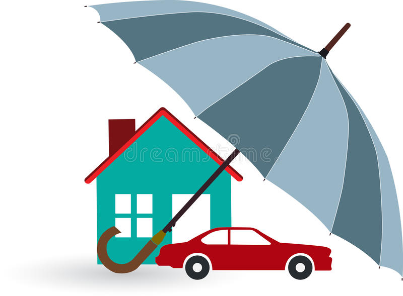 Home Insurance Stock Illustrations.