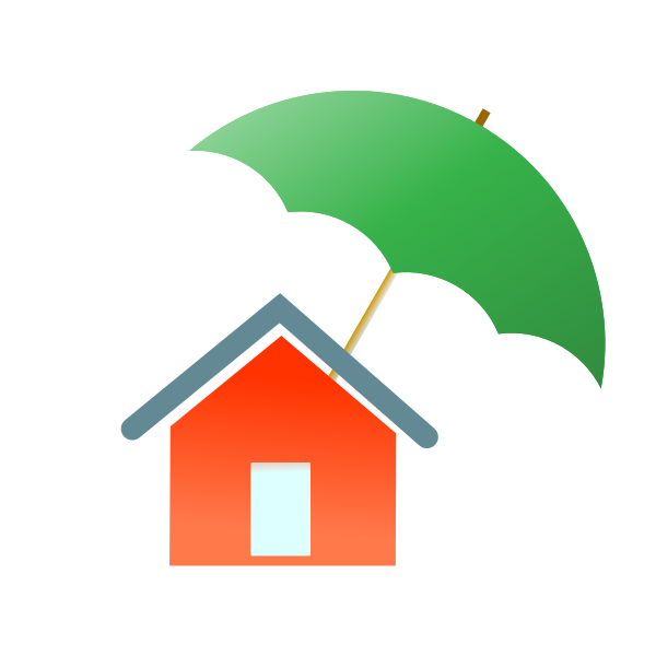 Home insurance icon.