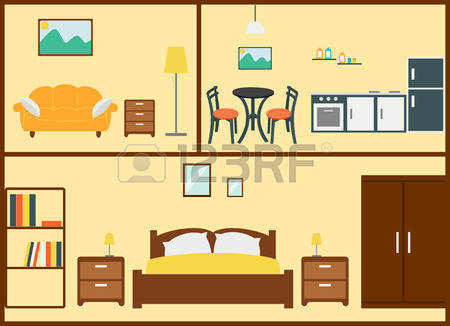 99,170 Interior Design Home Stock Vector Illustration And Royalty.