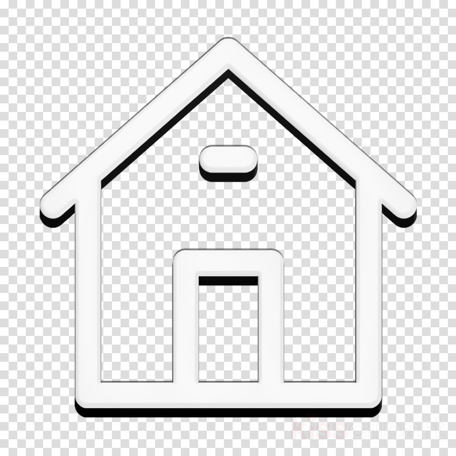 General UI icon Home icon interface icon clipart.