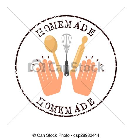 Homemade food clipart free.