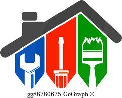 Home Repair Clip Art.
