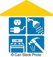 Home maintenance Clipart and Stock Illustrations. 11,756 Home.