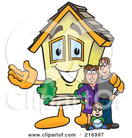 House Management Clip Art.