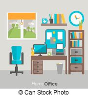 Home office Clipart and Stock Illustrations. 43,951 Home office.