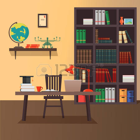 73,195 Home Office Stock Vector Illustration And Royalty Free Home.