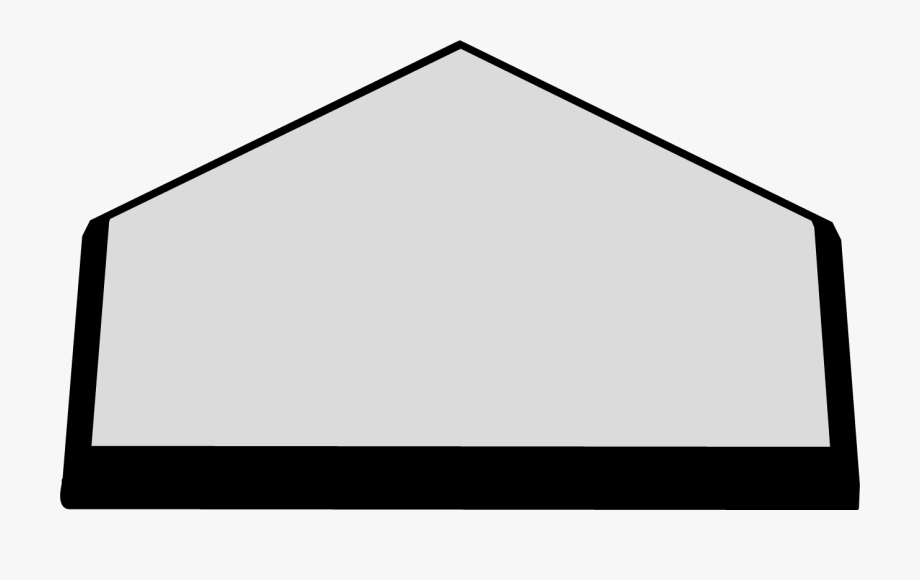 Home Plate Clipart.
