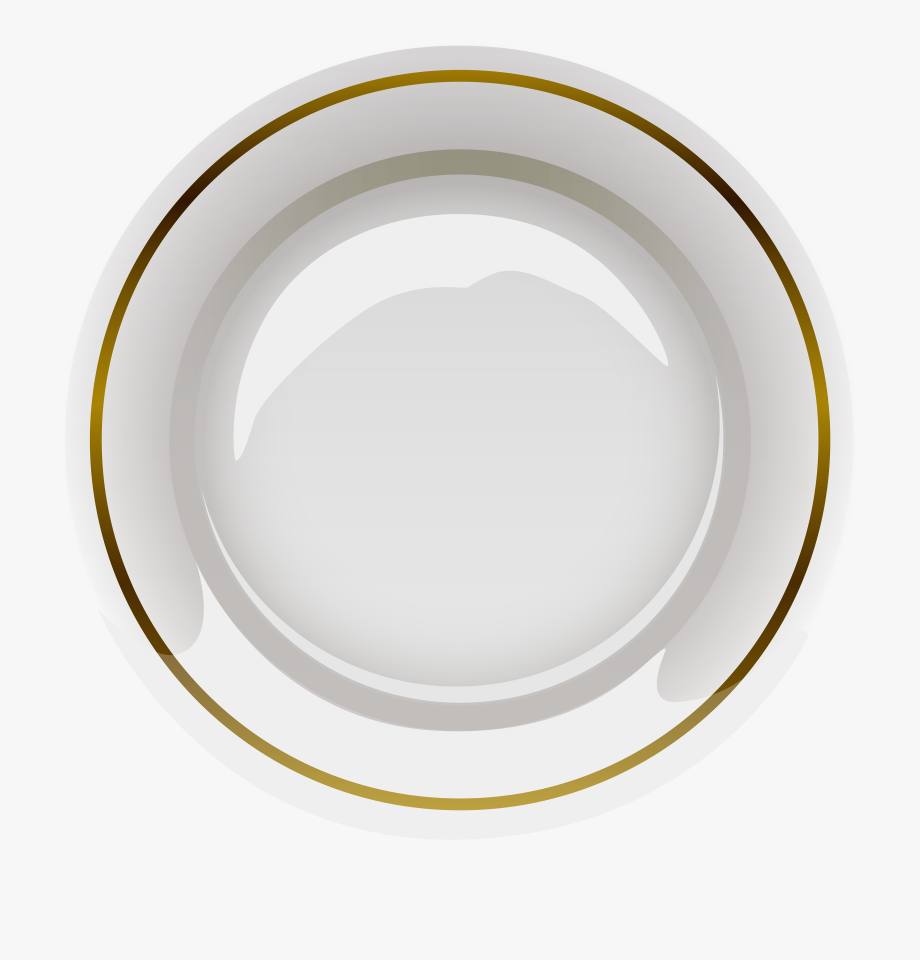 Elegant Plate Png Clipart.