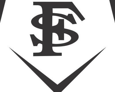 Baseball Home Plate Logo.